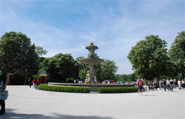 Fontana del Carciofo a Madrid