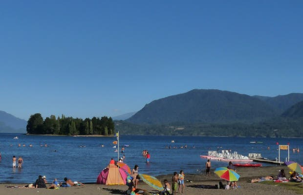 Beach Chauquen - Panguipulli Lake