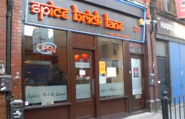 Restaurant Spice Brick Lane