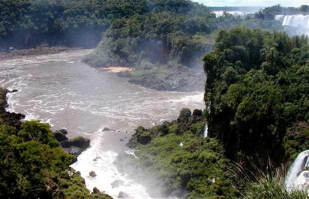 Circuito superiore delle Cascate di Iguazu