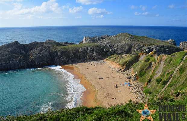La plage de Somocuevas