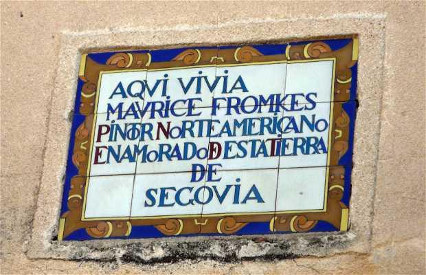 Casa de Maurice Fromkes, Segovia