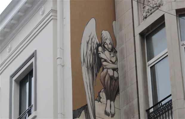 Mural de L'Ange de Sambre - Yslaire