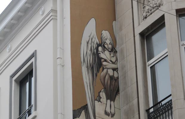 Mural L'Ange de Sambre - Yslaire