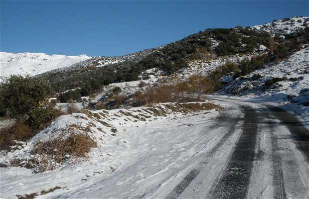 Ruta de Capileira al refugio de Poqueira