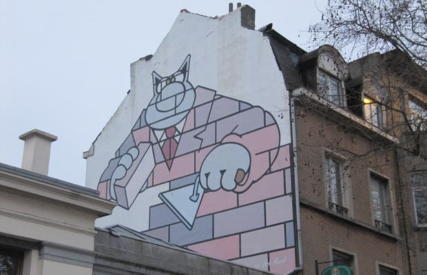 Murales Le Chat - Geluck