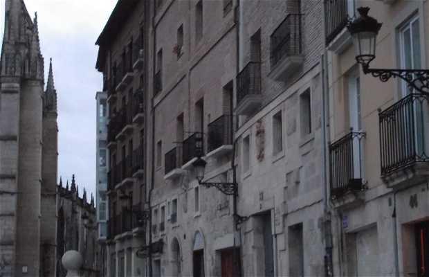 Camino de Santiago por la ciudad de Burgos