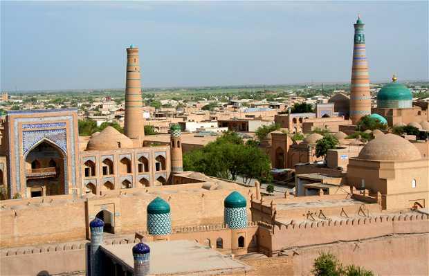 El minarete Islam Khodja