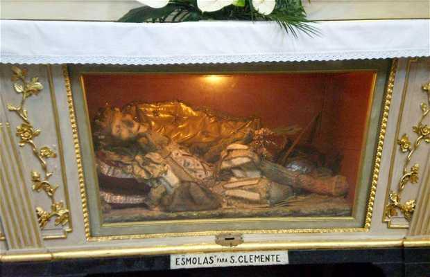 Altar Capilla de las Reliquias