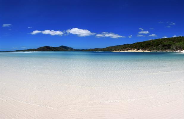 La plage de Whitehaven
