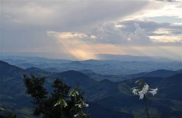 Vista do Observatório Pico dos Dias