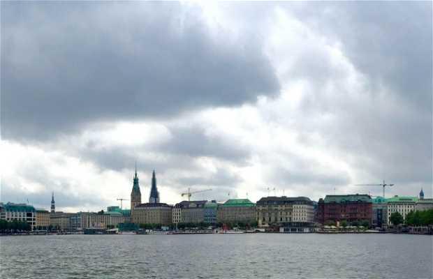 Ruta por los lagos de Hamburgo