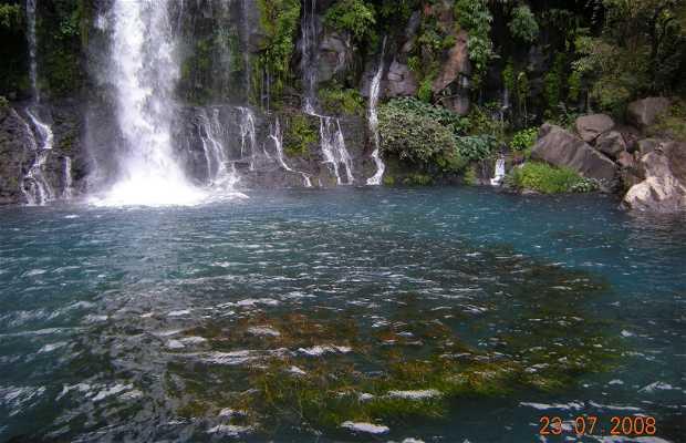 Cascada cuenca garcetas