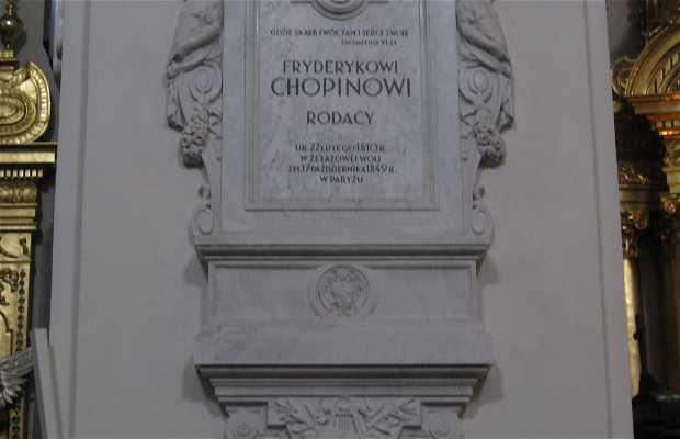 Le coeur de Chopin