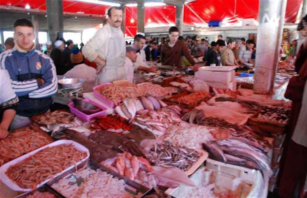 Mercato del pesce a Tangeri