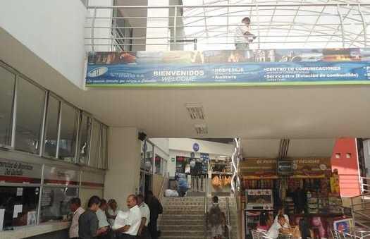 La gare d'Armenia
