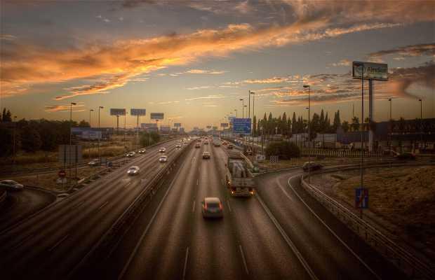 Entrada a Sevilla por A49