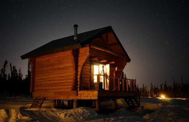 Aurora Borealis Viewing Cabin