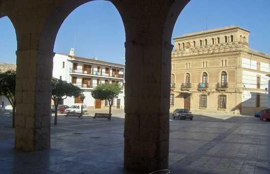Plaza Mayor de Villanueva de la Jara