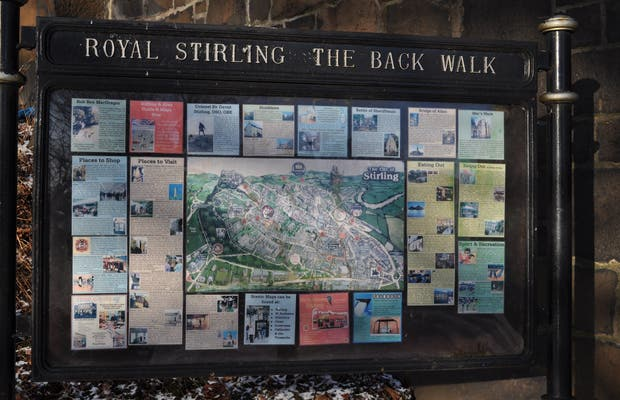 The Back Walk a Stirling