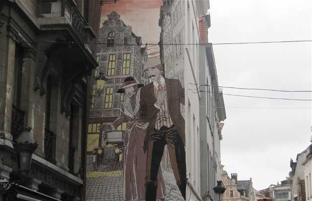 Mural Victor Sackville - Carin