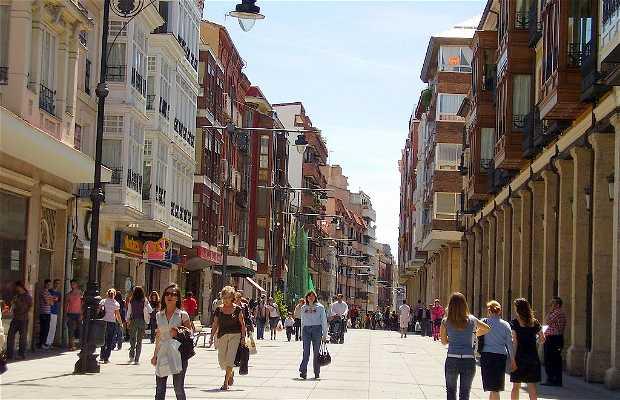 Calle Mayor a Palencia