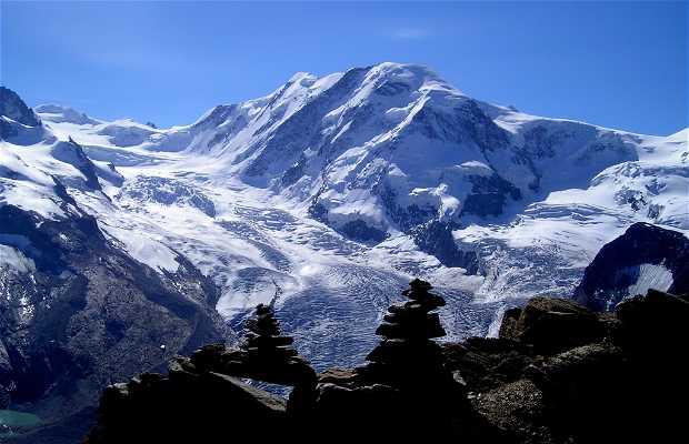 El Monte Rosa Suiza