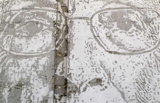 Mural de José Saramago