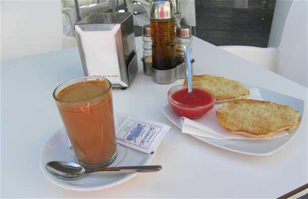 Cafetería Generalife. Churrería