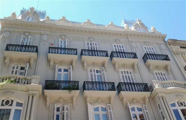 Palacete sede Colegio Oficial de Graduados Sociales de Valencia
