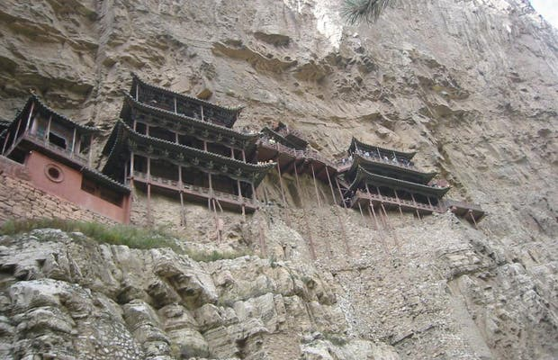 Templo Colgante de Xuankong