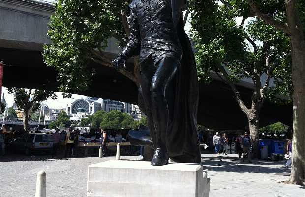 Statue de Laurence Olivier