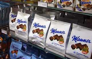 Tienda de chocolate Manner
