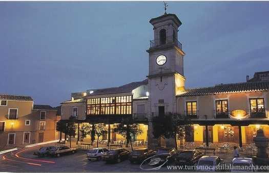 Plaza Mayor de Chinchilla de Montearagón