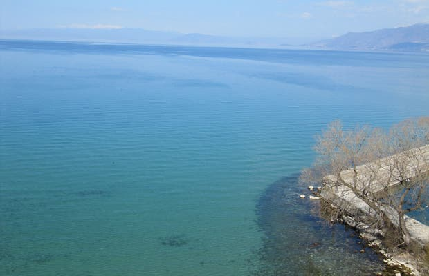 Around the Ohrid lake by car