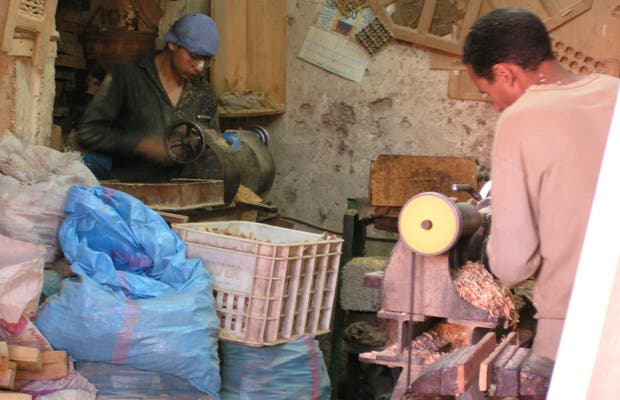 Artesanos de Marrakech