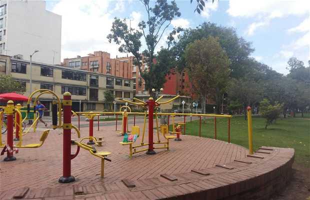 Gimnasio exterior Parque el Virrey