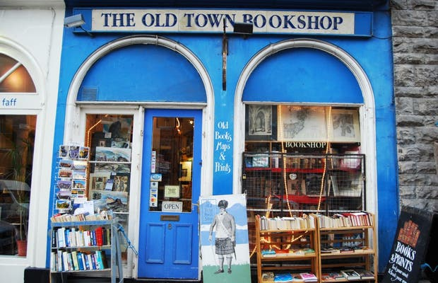 The Old Town Bookshop (bookstore of the old city)