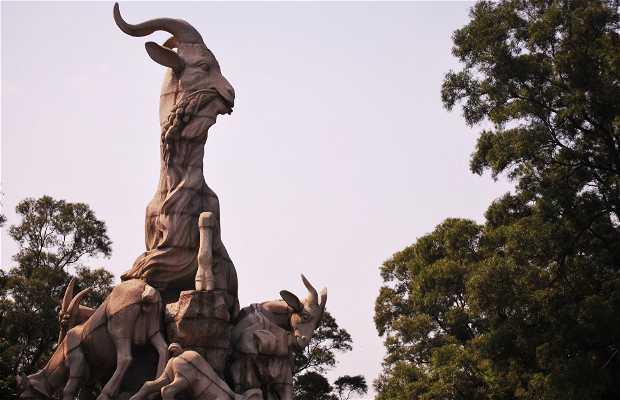 Escultura de las Cinco Cabras