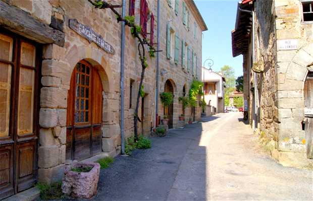 Le village de Cardaillac
