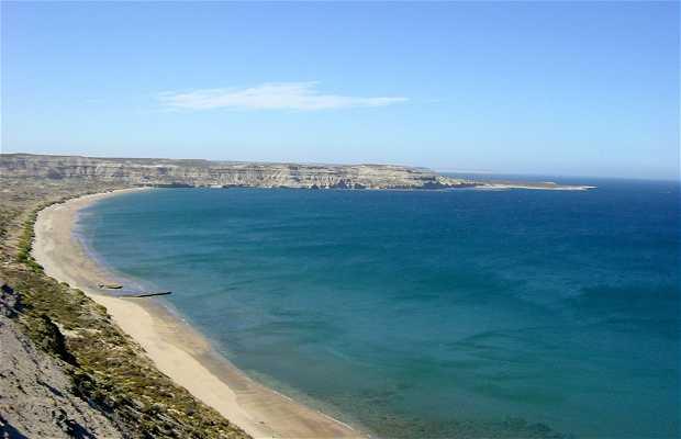Puerto Pirámides Cliffs