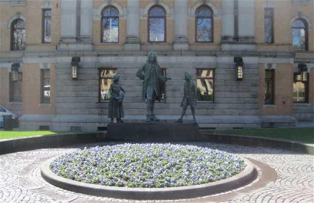 Ludvig Holberg Memorial writer