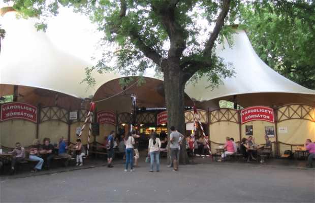 Bar y conciertos Városligeti Sörsátor (cerrado)