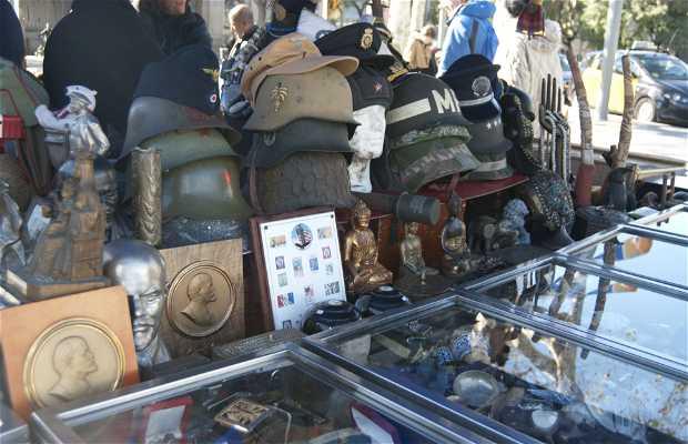 Mercado de antigüedades Port Antic