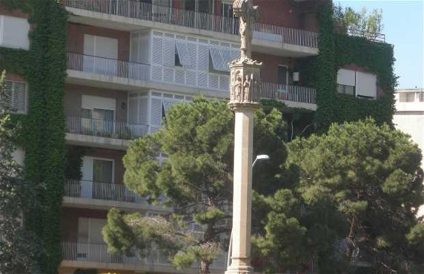 Croce di Pedralbes a Bercelona