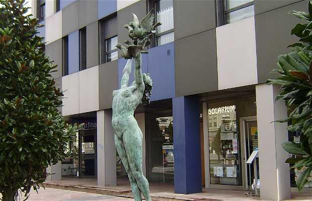 Sculpture de la Paix