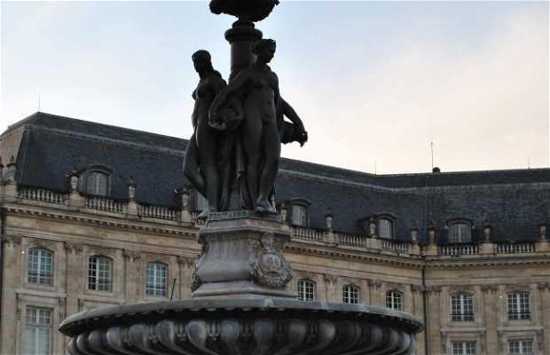 Fontaine Des Trois Graces A Bordeaux 6 Experiences Et 19 Photos