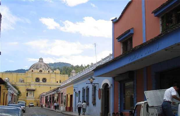 Le strade di Antigua
