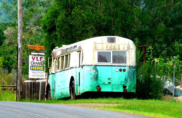 "Bus ""Into the Wild"" made in Australia"