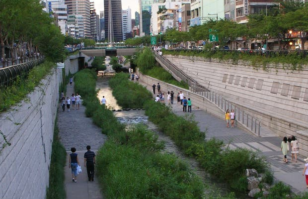 Fleuve de Cheonggycheon